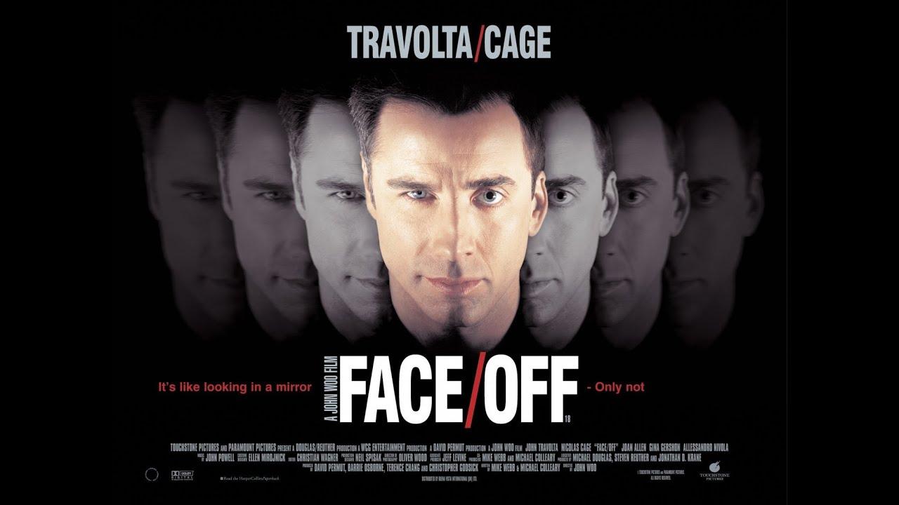 Nicolas Cage Face Off No Face Face/Off(1997) ...