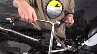 BMW F850GS Installation: Touratech Zega Pannier Racks