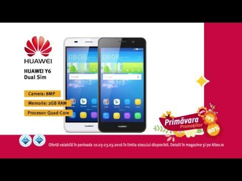 Reclamă ALTEX Smartphone Huawei - martie 2016