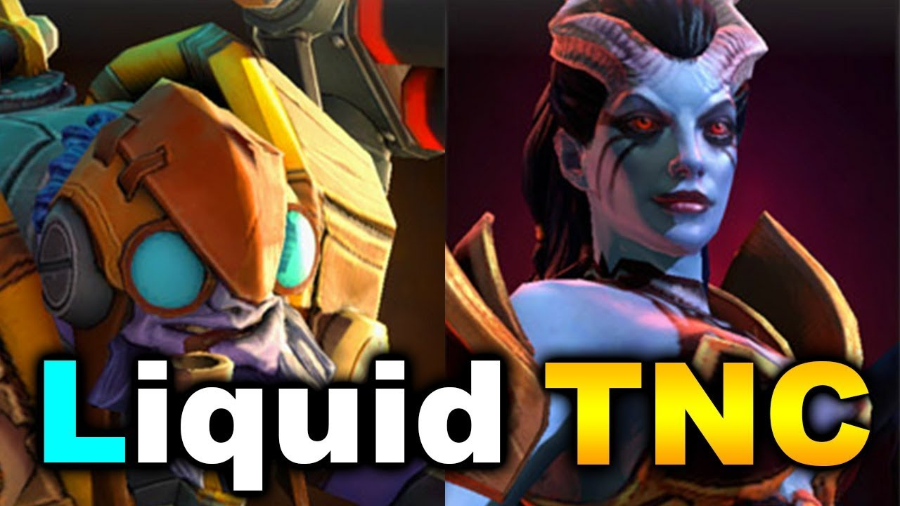 Liquid Vs TNC Beautiful Games The International 7 DOTA