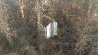 I found a free abandoned house in the woods on a property I own. thumbnail