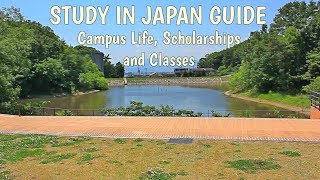Study in Japan: University guide, MEXT scholarship and Campus life!