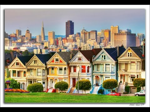 Painted Ladies Tour - Di and the Painted Ladies House - full house