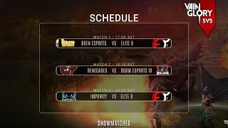 Vainglory 5V5 Show Matches - Southeast Asia - Week 1 Day 2