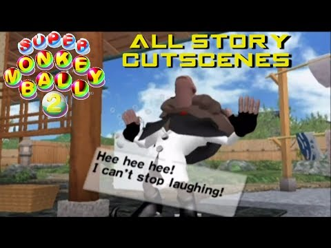 Super Monkey Ball 2: All Story Mode Cutscenes