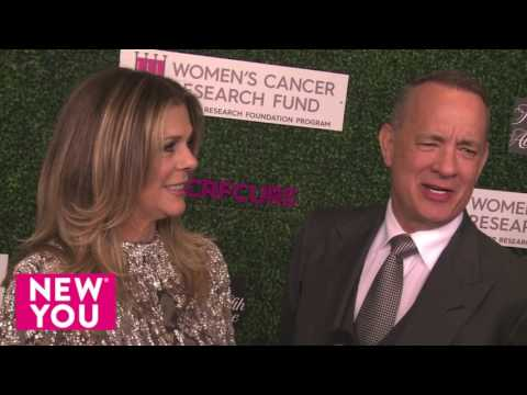 """Tom Hanks gushes over Rita Wilson """"she's the toughest woman i know"""""""