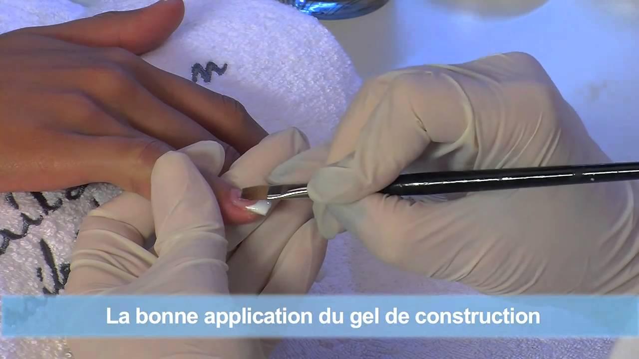 Faux Ongles en Gel UV en French Manucure avec les Tips