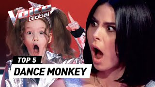 "Download Incredible ""DANCE MONKEY"" covers in The Voice Kids"