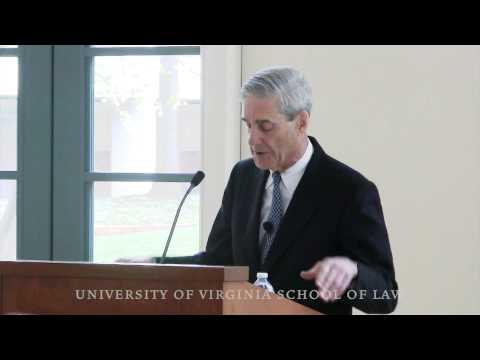FBI Director Robert Mueller at UVA Law