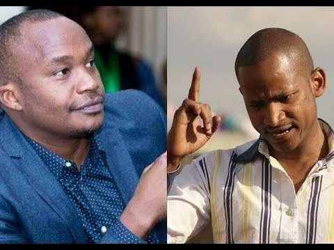 """I'm sorry,"" - Jaguar apologizes to Babu Owino after fight in parliament"