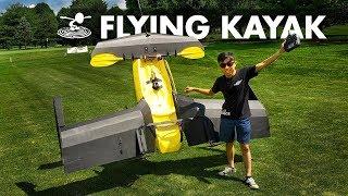 Attempting to make a Kayak Fly! ??? | RC Flying Kayak