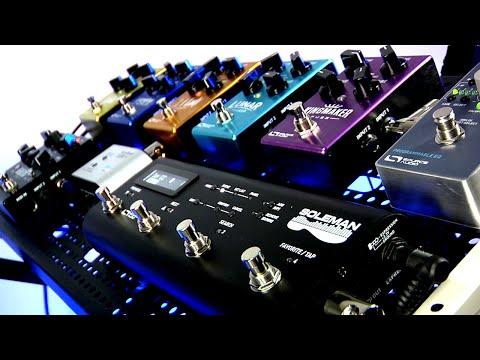 Soleman MIDI Foot Controller - Source Audio Website