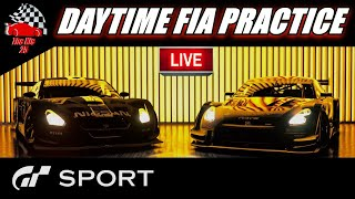 GT Sport - FIA Daytime Practice Live