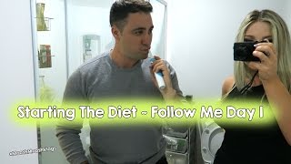 Starting The Diet ~ Follow Me Day 1 | MooshMooshVlogs