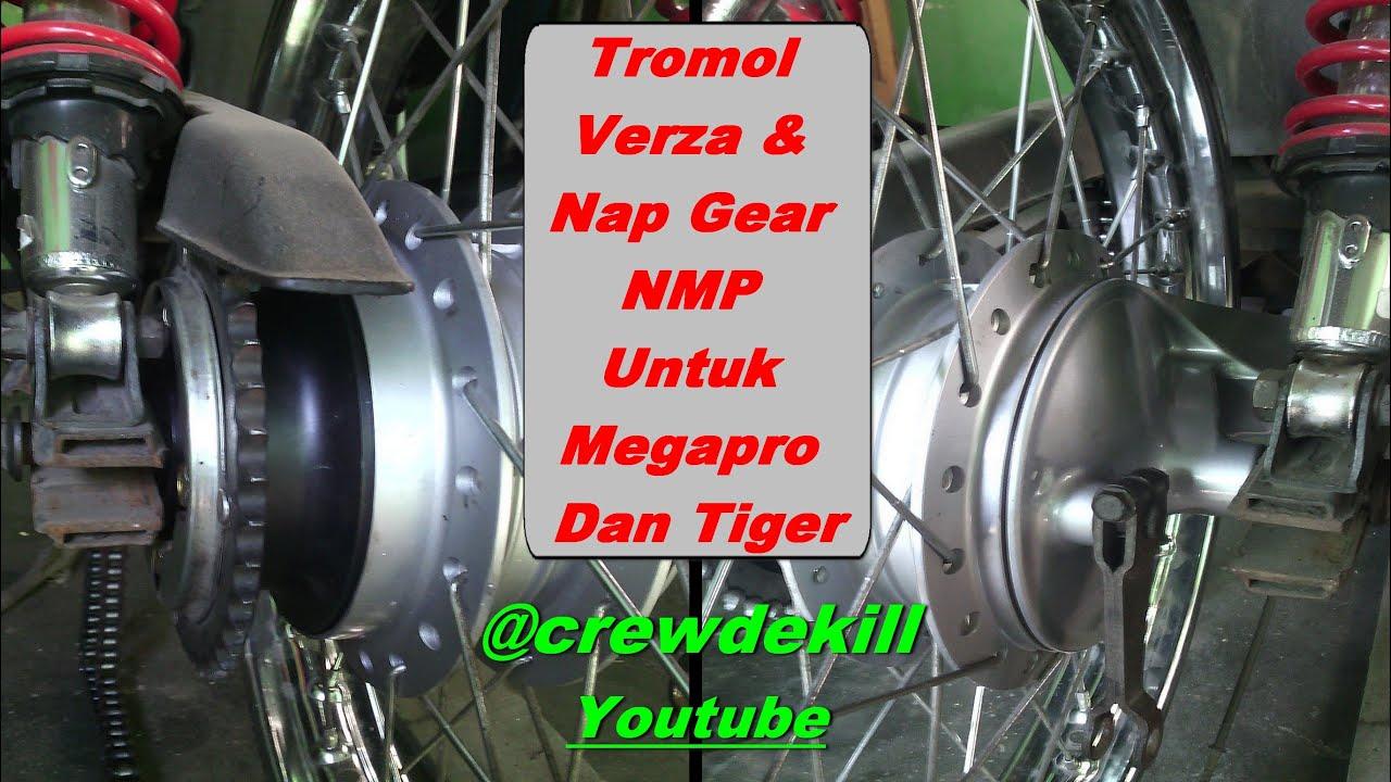 Tromol Verza Nap Gear Nmp Untuk Megapro Tiger Gl Series Youtube Bos Dan Baud Ring Gir Depan Rx King