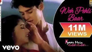 Download Woh Pehli Baar - Pyaar Mein Kabhi Kabhi | Dino Morea | Rinke Khanna | Shaan Mp3 and Videos