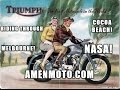 Triumph Bonneville goes to Cocoa Beach, Merritt Island! NASA in the '60s! Neil Armstrong's House?