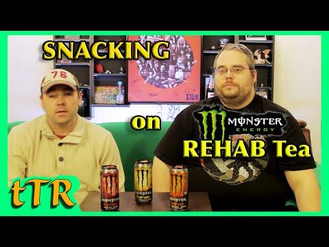 Monster rehab Energy Teas | Snacking | the Tim Ridenour