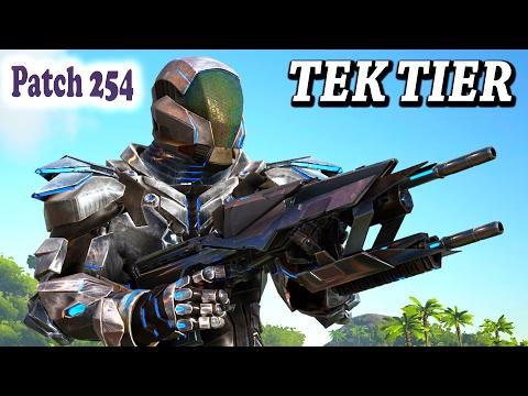 😱ARK HOW TO GET THE TEK TIER + A BIG TEST! Tek Armor, Tek Rifle, Tek T-Rex Saddle & Tek Transmitter
