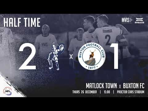 Matlock Buxton Goals And Highlights