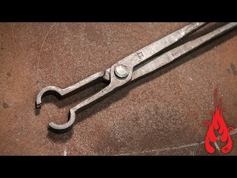 Blacksmithing - Forging power hammer / pickup tongs
