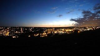 Sunset in Chatham Kent UK - timelapse