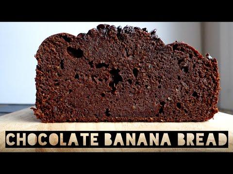 Healthy Banana Bread Recipe | How To Make Healthy Chocolate Protein Banana Bread