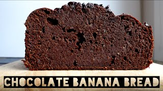 How To Make Healthy Chocolate Protein Banana Bread