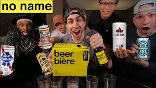 $1 Dollar Beer Blind Taste Test (No-Name vs. Brands)
