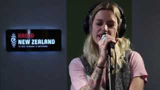 Gin Wigmore - 'Written In The Water ' in Session at Radio New Zealand
