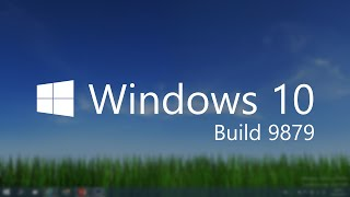 windows 10 build 9879 improved animations insider hub onedrive and more