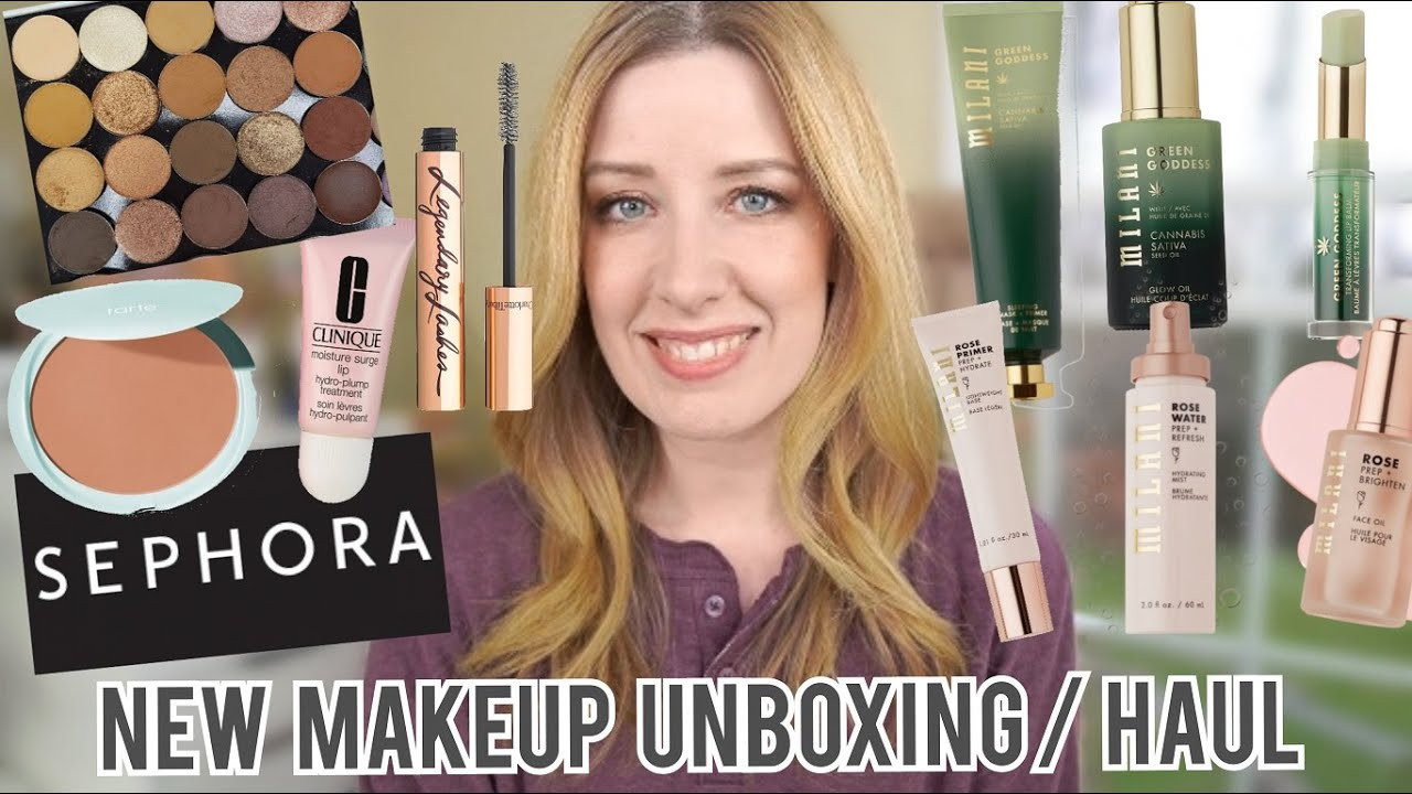 NEW MAKEUP HAUL 4/26/20 | Sephora VIB Sale, Sydney Grace, Milani