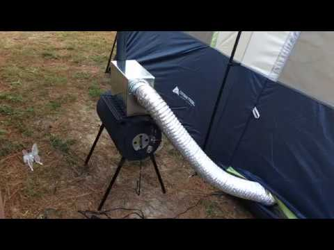 Homemade Tent Heater & Homemade Tent Heater - YouTube