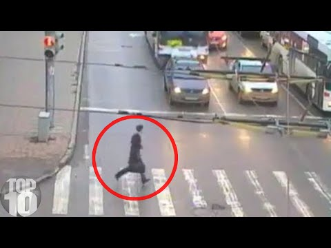 10 Near DEATH Experiences Caught On Camera