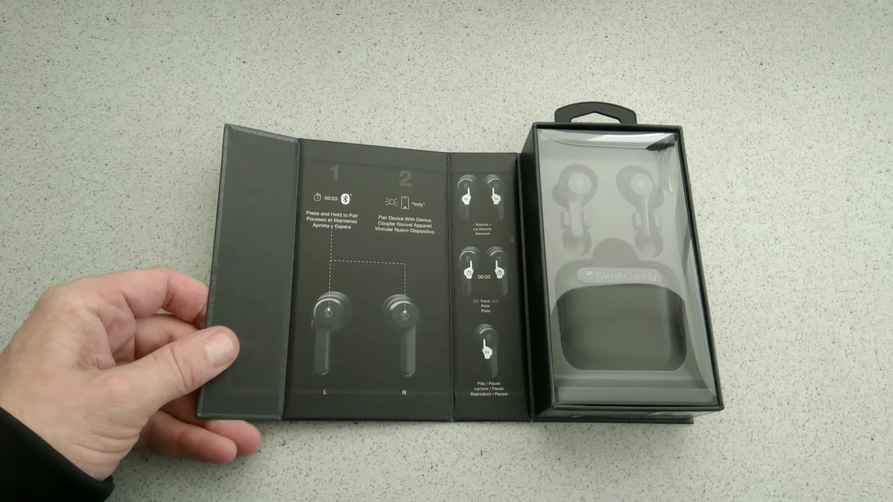 1e445e2a658 First look and unboxing. The Skullcandy INDY true wireless earbuds. # Skullcandy #TrueWireless – techbuzzireland.com