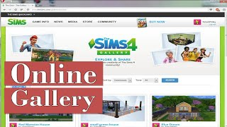 The Sims 4-Tutorial:Online Gallery|SimsPinky(, 2015-01-27T17:11:52.000Z)