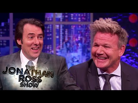Gordon Ramsay Gets Roasted Compilation - The Jonathan Ross Show