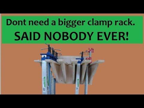 Clamp Rack Build