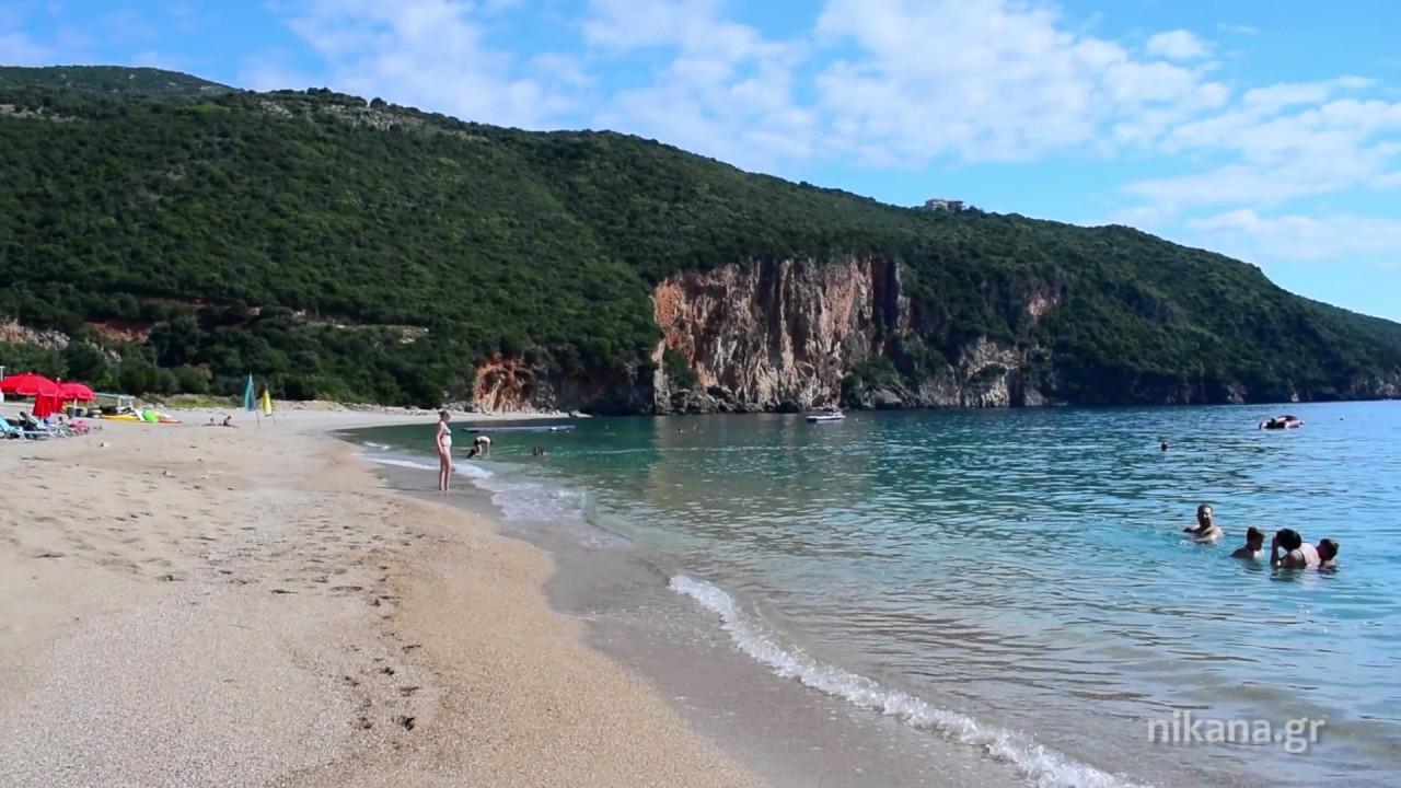 Lichnos Beach Near Parga Greece