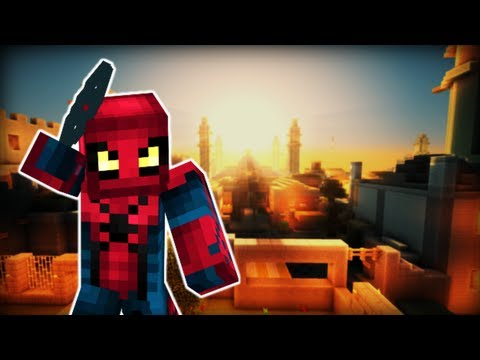 Minecraft SPIDERMAN MOD