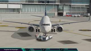 Zibo 737 EIDW to EGKK trying to fully automate the flight with FMC