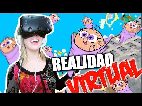 LANZANDO BEBES en REALIDAD VIRTUAL (HTC VIVE)   Rescuties VR