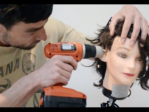 ASMR [dummy head hack] - how to make a binaural dummy head microphone rig for under $100