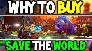 WHY TO BUY FORTNITE SAVE THE WORLD NOW! 50% OFF + 5000 FREE VBUCK! (Save The World for FREE?)