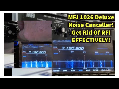 Ham Radio Live! Show 57: MFJ 1026 Review! Knock OUT RFI And Bring Weak Signals UP In Your Receiver!