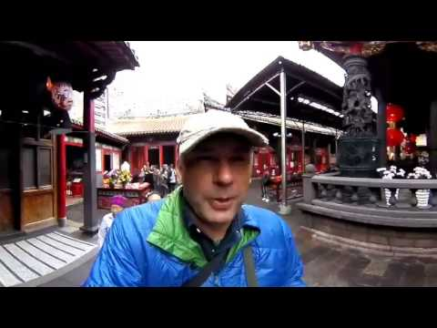 360 Degree Broadcast-Taipei Taiwan's Iconic Longshan Temple