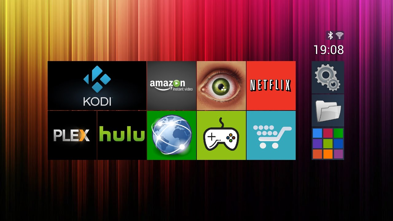 Top Android TV Launcher - Now with the ability to set custom