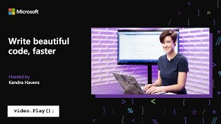 Visual Studio 2019 Launch: Write beautiful code, faster