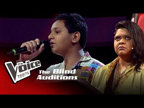 Anjana Thejan   See You Again   Blind Auditions  The Voice Teens Sri Lanka