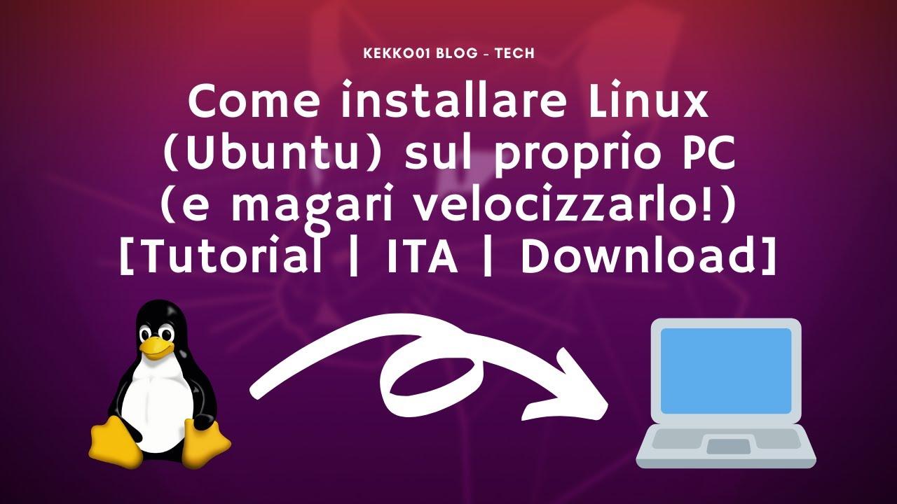 Scaricare linux ubuntu italiano